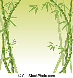 achtergrond, bamboe
