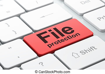 achtergrond, bescherming, computer, bestand, toetsenbord, veiligheid, concept: