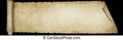 achtergrond., black , perkament, boekrol