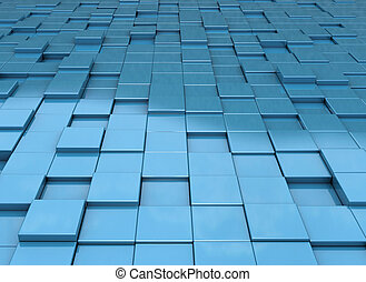 achtergrond, blokje, abstract