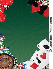 achtergrond, casino