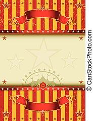 achtergrond, circus