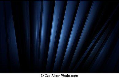achtergrond, donker, minimaal, lijnen, abstract, het herhalen, blauwe