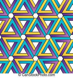 achtergrond, driehoeken, penrose