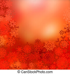 achtergrond., eps, kerstmis, rood, 8