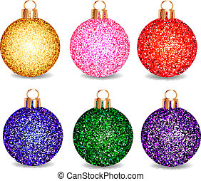 achtergrond, gelul, set, kerstmis, witte