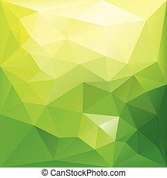 achtergrond., geometrisch, abstract