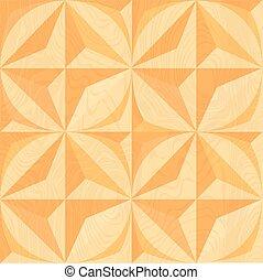 achtergrond., geometrisch, hout, carving.