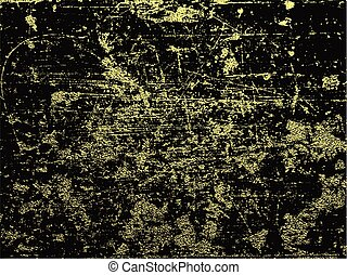 achtergrond, goud, abstract, texture.
