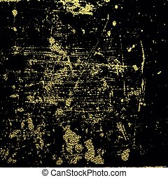 achtergrond, goud, texture., abstract