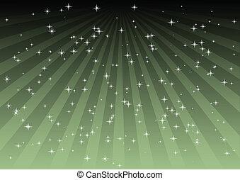 achtergrond, groene, gestreepte