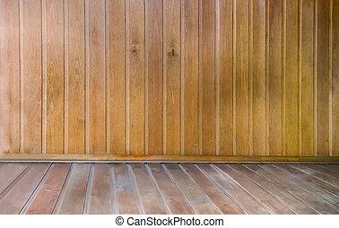 achtergrond, image:, natuurlijke , houten, afwerking, sauna.