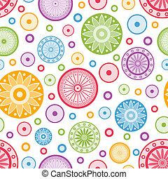 achtergrond., kleurrijke, seamless