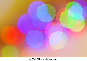 achtergrond, lichten, kleurrijke