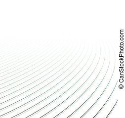 achtergrond., lijnen, perspectief