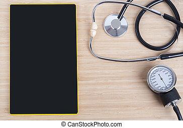 achtergrond, medisch, thema