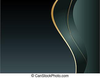 achtergrond, met, abstract, glad, lijnen