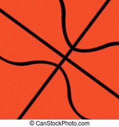 achtergrond, met, basketbal bal, textuur