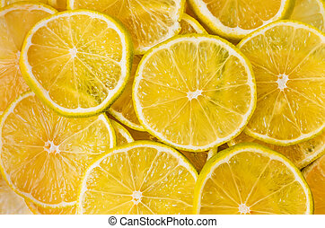 achtergrond, met, citrus-fruit