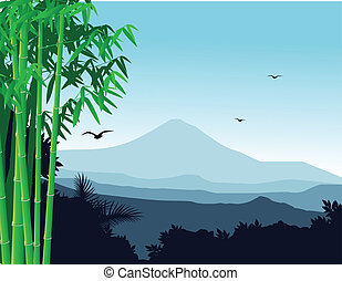 achtergrond, natuur