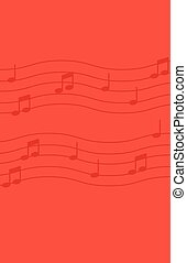 achtergrond., opmerkingen, muziek, rood