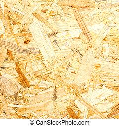 achtergrond., osb, hout, texture.