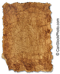 achtergrond, oud, aangebrand, papier