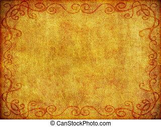 achtergrond, oud, weefsel, textuur