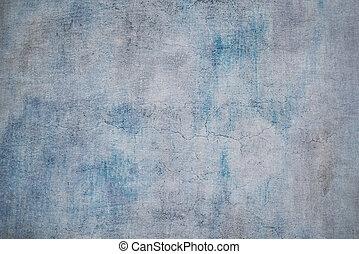 achtergrond., ouderwetse , texture., hoog, resolutie, grunge, blauwe