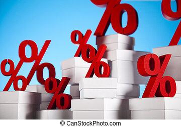 achtergrond, percentage