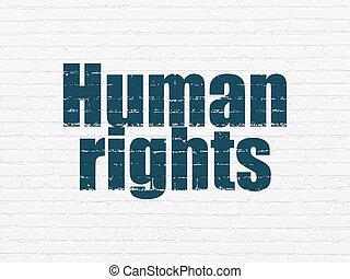 achtergrond, rechten, muur, menselijk, politiek, concept: