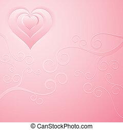 achtergrond, roze
