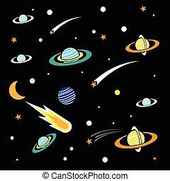 achtergrond, ruimte