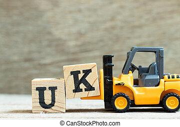 achtergrond, speelbal, (abbreviation, vorkheftruck, woord, houden, brief k, kingdom), hout, compleet, blok, verenigd, uk
