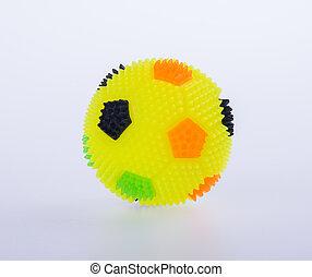achtergrond., speelbal, of, bal