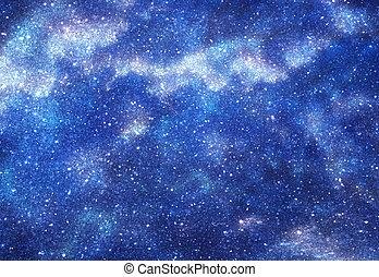 achtergrond, sterretjes, ruimte