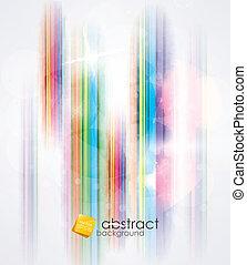achtergrond, strepen, kleurrijke