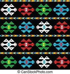 achtergrond, textuur, ethnische