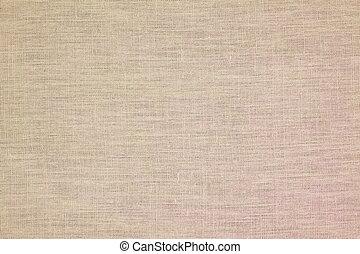 achtergrond, van, linnen, materiaal
