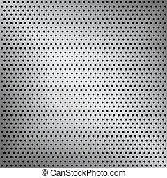achtergrond, vector, eps10, metaal, illustratie