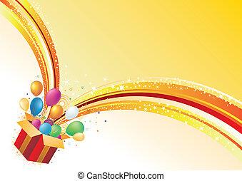 achtergrond, viering, vector