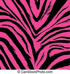 achtergrond, -, zebra, vacht