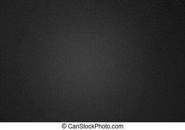 achtergrond, zwart leder
