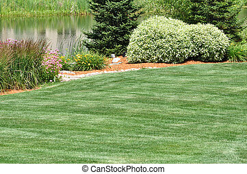 achterplaats, landscaping