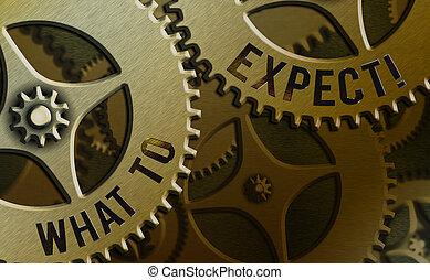 achting, vragen, waarschijnlijk, over, aantekening, occur., wat, foto, het tonen, happen, showcasing, schrijvende , expect., zakelijk, iets
