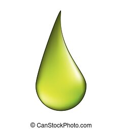 acid drop vector symbol icon design. illustration isolated on white background