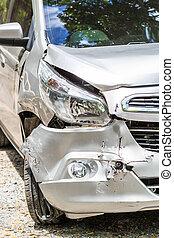 acidente carro, tráfego