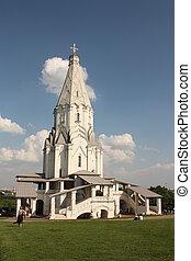 Acient russian church in Kolomensko - Acient russian church...