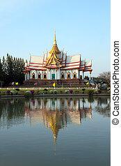 acient temple building in Thailand