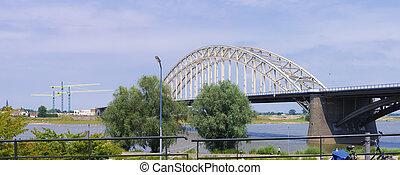 acier, arc pont